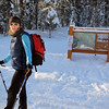 <b>18 Jan 2011</b> Starting out from the Moraine Lake carpark