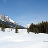 Heading out along the trails of the Canmore Nordic Centre