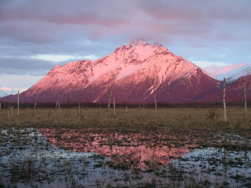Pioneer Peak, Chugach Range, outside Anchorage, AK