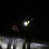 <b>19 Dec 2009</b> Skinning out to Wheeler Hut at night (Rogers Pass)