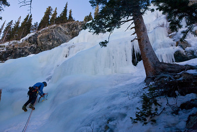 LINCOLN FALLS, CO - Ice Climbing with Rob Coppolillo and Joe T.