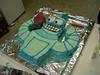 "18.8.2006.  Ta Dah!  Completed Bender cake - cigar (musk stick) to be inserted in hand on arrival at Buller <br><font size=""1"">© <a href=""http://shogun.smugmug.com"">Alex Cohen</a></font>"