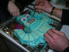 """18.8.2006.  The Bender cake in final stages of preparation <br><font size=""""1"""">© <a href=""""http://shogun.smugmug.com"""">Alex Cohen</a></font>"""