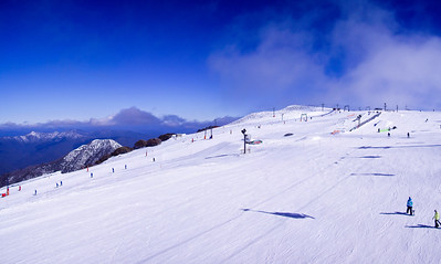 Panorama from the Holden Express chairlift