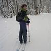 12 Sept 2004.  Megan heading up Mt Stirling