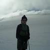 4 July 2004.  Megan on Mt Stirling