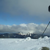 4 July 2004.  Mt Stirling summit and the view to Mt Buller
