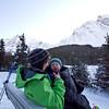 Finn and Mama at Elbow Lake