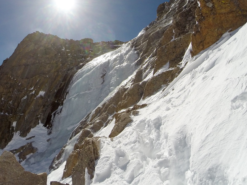 Dragon's Egg Couloir