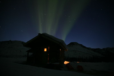 WHITE MOUNTAINS, AK - A 10-day, 100-mile hut to hut ski trip in the Alaskan Interior.