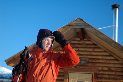 WHITE MOUNTAINS, ALASKA. Cashe Mountain Cabin - ready to go.