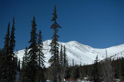 WHITE MOUNTAINS, ALASKA. Cashe Mountain Divide