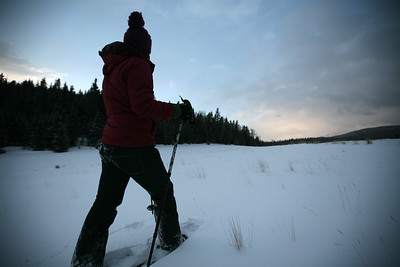 Winter activities at Vermejo Ranch in New Mexico.