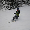 December 2nd - 20cm overnight - first lifts.  Megan on Wawa