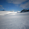 Day Two.  Looking North across the Waputik Icefield towards Mount Balfour and Mount Lilliput