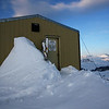 Day Two.  Dawn views of the Stanley Mitchell Hut.