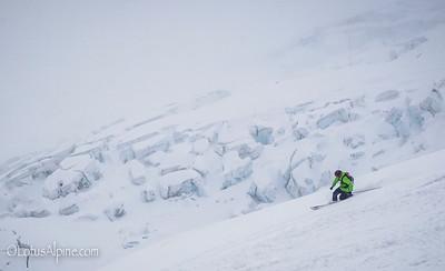 Telemarking is not dead (yet)....Argentierre Basin, France
