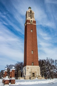 Coughlin Campanile on the campus of South Dakota State University. Enjoy and hold hands.