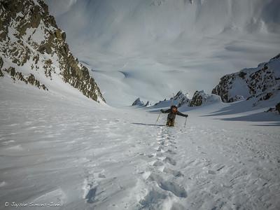 Alaskan Stairmaster....Chugach Mountains, AK
