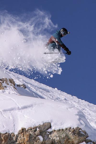 skier jumping, Baldy Shoulder