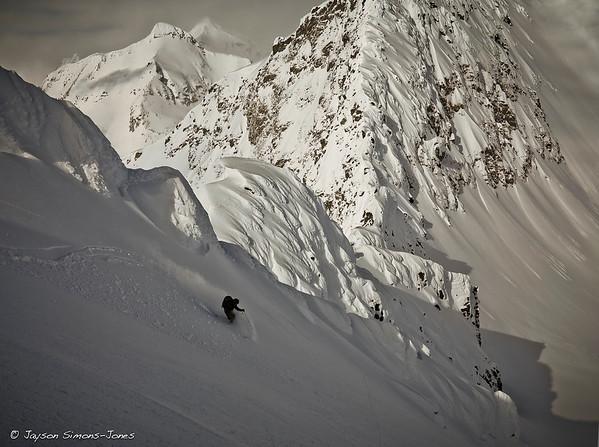 Pure Alaskan Skiing....Thompson Pass, AK