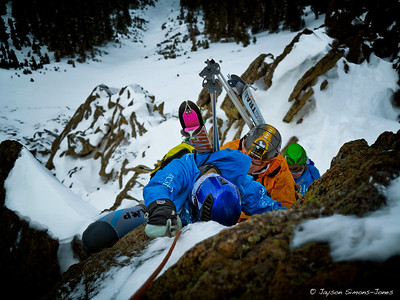 Ski Mountaineering Racers....Crested Butte, CO