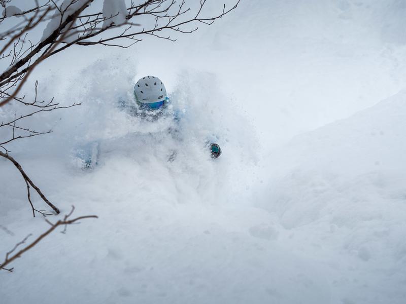 Powder Camps skiing the backcountry of Niseko