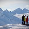 Enjoying the views near Thompson Pass, Alaska.