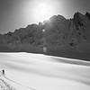 Daniel Buss exploring the Valley of the Promised Land, near Valdez, AK.
