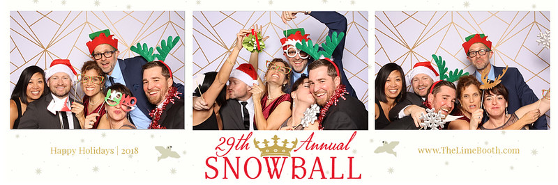 Snowball Gala photo strip