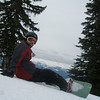 Hans first day at Big White