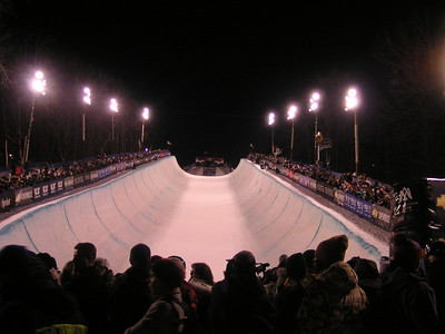 Mountain Creek Grand Prix pipe with fans
