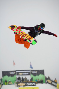 Chevy U.S. Snowboarding Grand Prix - Tamarack, ID February 9, 2008 Photo © Mountain Life Photography