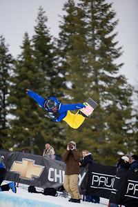Chevy U.S. Snowboarding Grand Prix - Tamarack, ID February 9, 2008 Photo © Mountain Life Photography