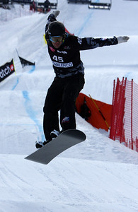 Nick Baumgartner Photo © Oliver Kraus - FIS. Image may be used for editorial use only.