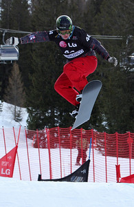 Nate Holland Photo © Oliver Kraus - FIS. Image may be used for editorial use only.