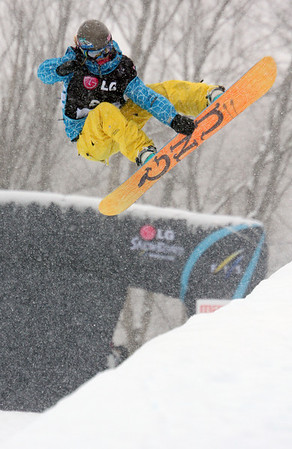 2009 LG Snowboarding FIS SBX World Cup - Stoneham