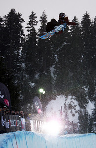 Shaun White competes in the finals of the 2009 LG Snowboard FIS World Cup at Cypress Mountain, BC. Images in this gallery may be used for editorial use only and photographer must be credited. Photo © FIS – Oliver Kraus