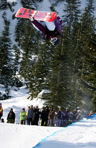 U.S. Snowboarding's Gretchen Bleilers competes in the finals of the 2009 LG Snowboard FIS World Cup at Cypress Mountain, BC. Images in this gallery may be used for editorial use only and photographer must be credited. Photo © FIS – Oliver Kraus