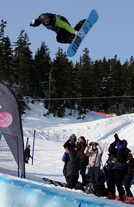 U.S. Snowboarding's Scotty Lago competes in the qualification round of the 2009 LG Snowboard FIS World Cup at Cypress Mountain, BC. Images in this gallery may be used for editorial use only and photographer must be credited. Photo © FIS – Oliver Kraus