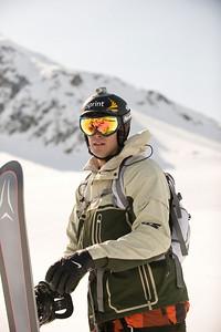 Skiing images of Seth Wescott shot for Warren Miller Entertainment.  Photo © Court Leve