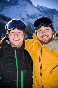 Nate and Pat Holland Snowboardcross U.S. Snowboarding Photo: Peter Foley/U.S. Snowboarding