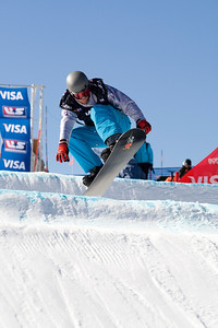 Pat Holland  U.S. Snowboarding Grand Prix at Boreal  Photo © Tom Zikas