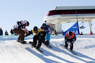 U.S. Snowboarding Grand Prix at Boreal  Photo © Tom Zikas
