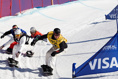 Ross Powers, Jason Smith, Jayson Hale  U.S. Snowboarding Grand Prix at Boreal  Photo © Tom Zikas