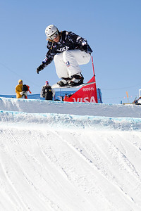 Jayson Hale  U.S. Snowboarding Grand Prix at Boreal  Photo © Tom Zikas