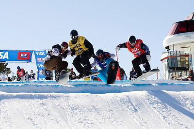 Nick Baumgartner  U.S. Snowboarding Grand Prix at Boreal  Photo © Tom Zikas