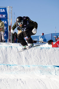 Graham Watanabe  U.S. Snowboarding Grand Prix at Boreal  Photo © Tom Zikas