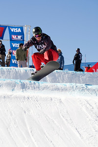 Nate Holland  U.S. Snowboarding Grand Prix at Boreal  Photo © Tom Zikas