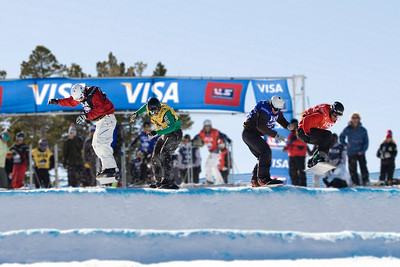 Seth Westcott  U.S. Snowboarding Grand Prix at Boreal  Photo © Tom Zikas
